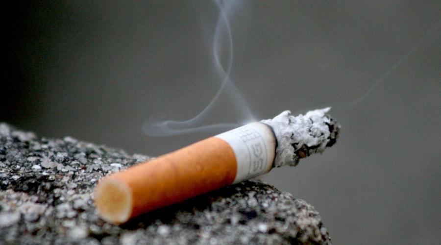 Stop kajenju. Z anti-kadilskim načrtom.