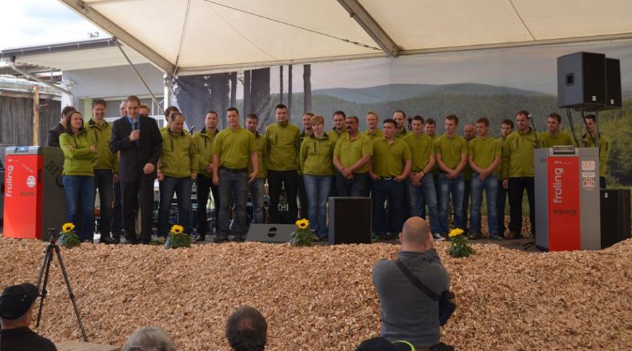 Otvoritev novega Biomasinega biomasnega centra Nazarje