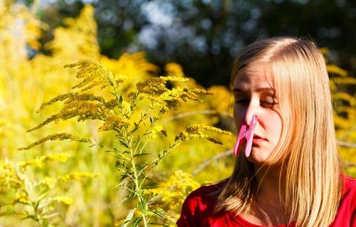 Alergični na cvetni prah?