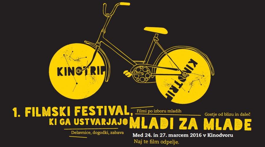 Mladi ustvarjajo za mlade – Kinotrip, prvi mednarodni filmski festival