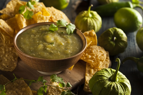 Recept: mehiška zelena omaka iz tomatila