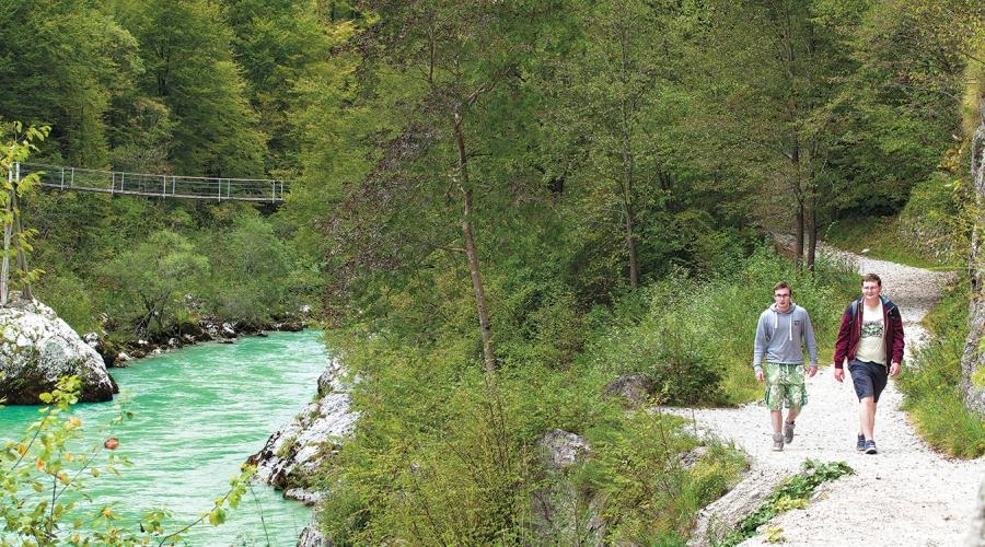 Trail walking tudi pri nas: na stezicah Alpe Adria Traila