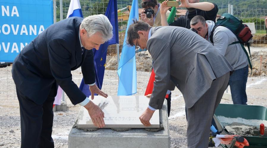 V Izoli se je začela gradnja Centra starejših