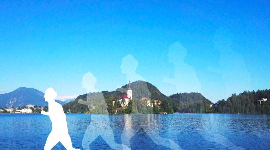 Šport in prijetno druženje ob jezeru