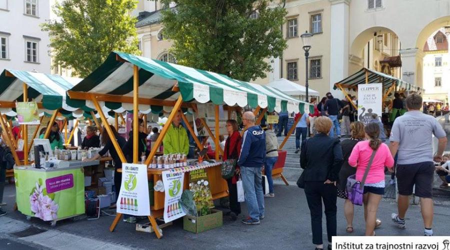 Ekopraznik v Ljubljani praznuje že 15. obletnico