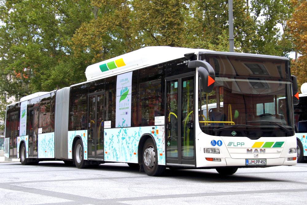 Evropski teden mobilnosti: parkiraj in se pelji z avtobusom