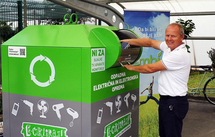 Zbiranje e-odpadkov: mreža se veča, količina zbranih odpadkov tudi