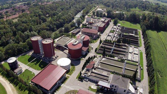 Nadgradnja čistilne naprave Domžale - Kamnik: s sodelovanjem občine izkazale odgovornost do okolja