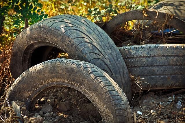 Izrabljene pnevmatike odlagamo ločeno, v sistem za predelavo