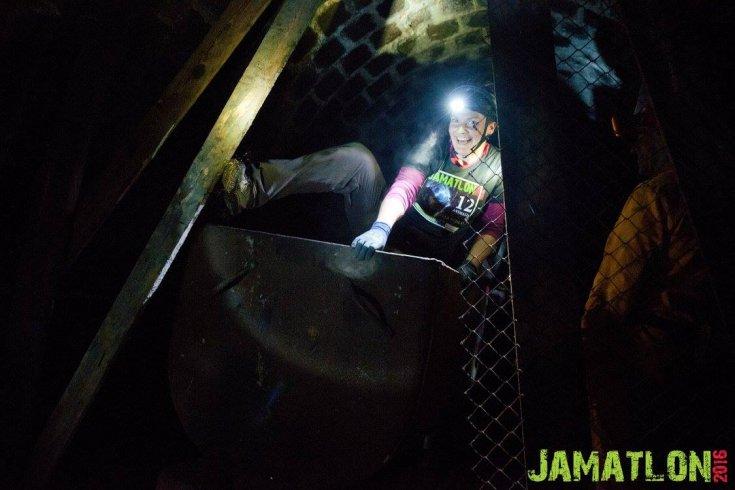 Jamatlon: premagovanje različnih, tudi virtualnih ovir 200 metrov pod zemljo