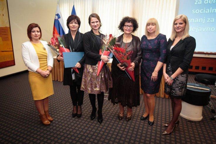 Nagrade in priznanja za delo na področju socialnega varstva