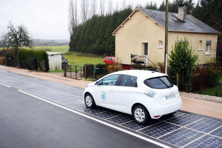Wattway: prva solarna cesta na svetu v Franciji