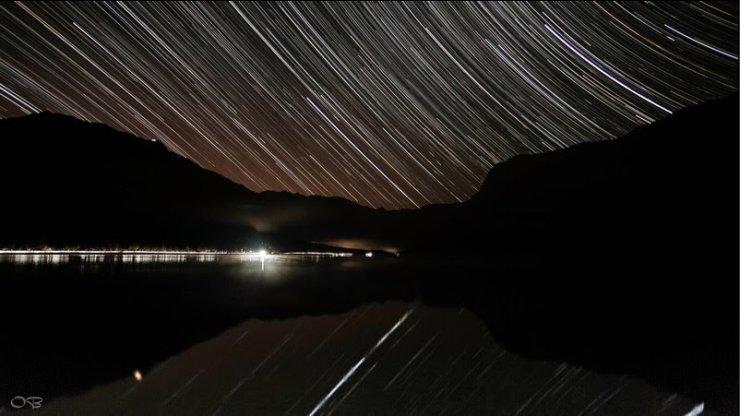Opazovanje nočnega neba na voglu