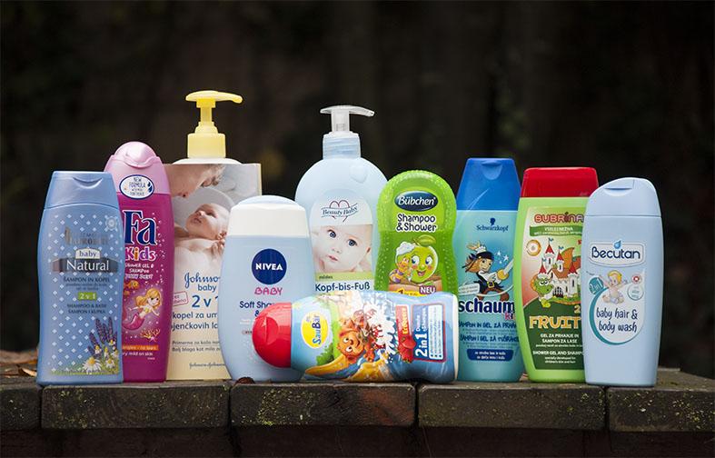 NA TESTU: Geli za umivanje za otroke in dojenčke