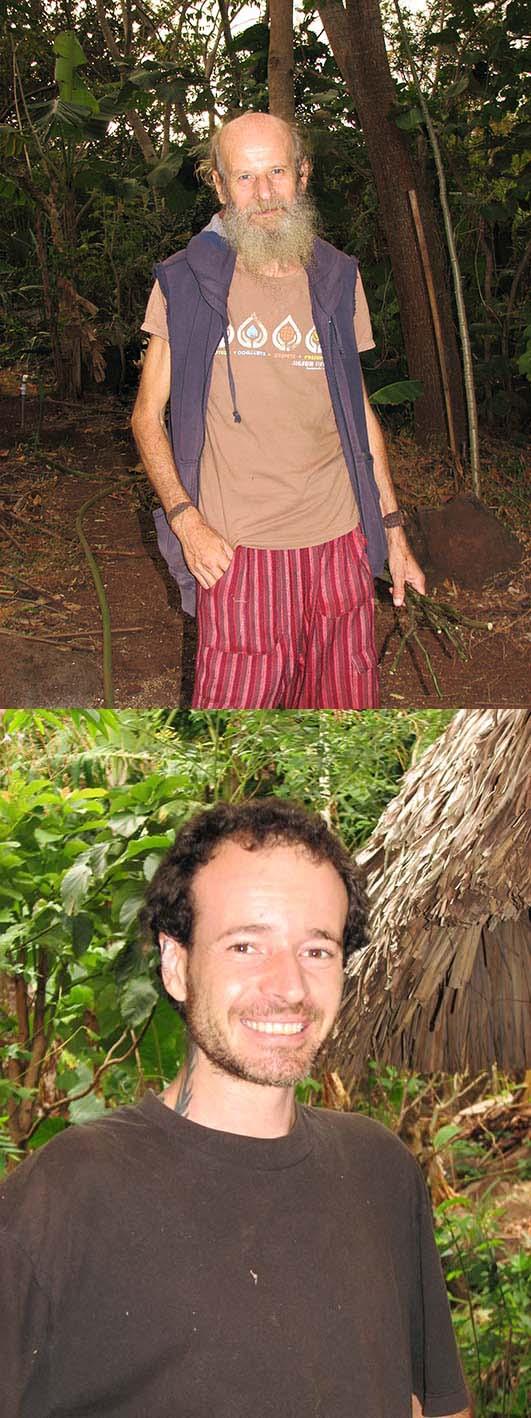 Italijanska lastnika ekološkega posestva – Bruno, Cristiano