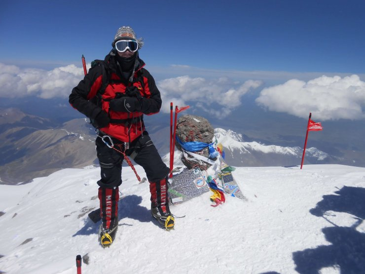 Na Ptuju potopisno predavanje z odprave na dva pettisočaka: Damavand in Elbrus