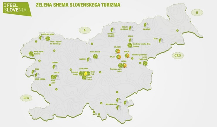 Prijave za zelene destinacije Slovenia Green Destination do 10. februarja