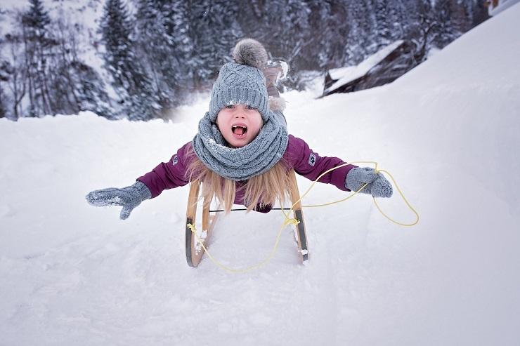 Zdravje otrok - varno pri zimskih aktivnostih