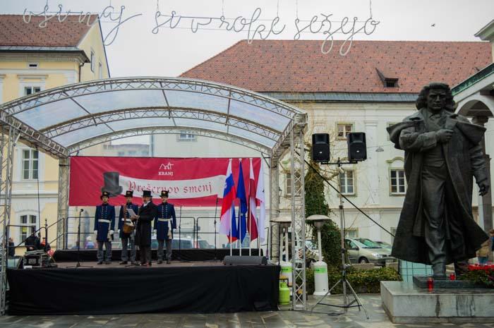 Fotoreportaža: Prešernov smenj v Kranju