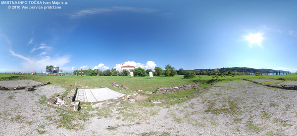Sveža podoba Arheološkega parka Simonov zaliv