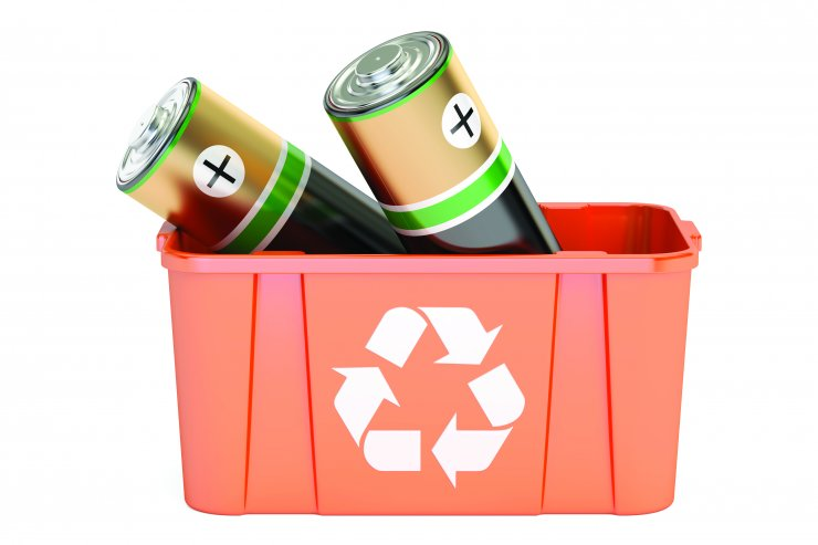 Izdelaj domači zbiralnik za stare baterije