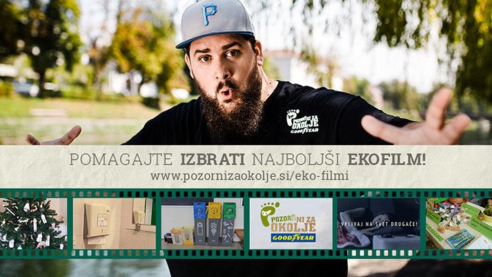 Glasujte za najboljši EKOfilm slovenskih dijakov
