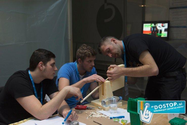 Mariborski študentje tekmujejo za najboljše inženirje v Evropi