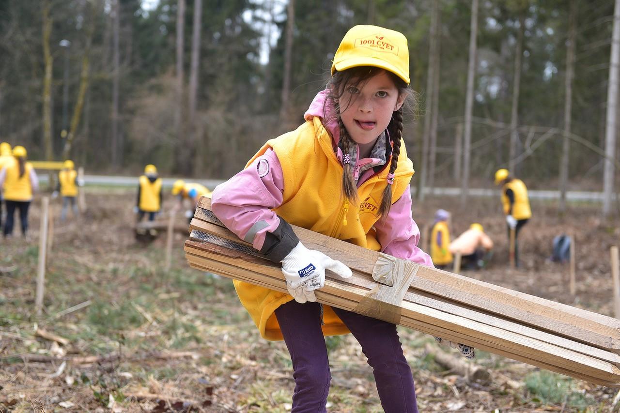 Zasaditev 1001 sadike na mednarodni dan gozdov