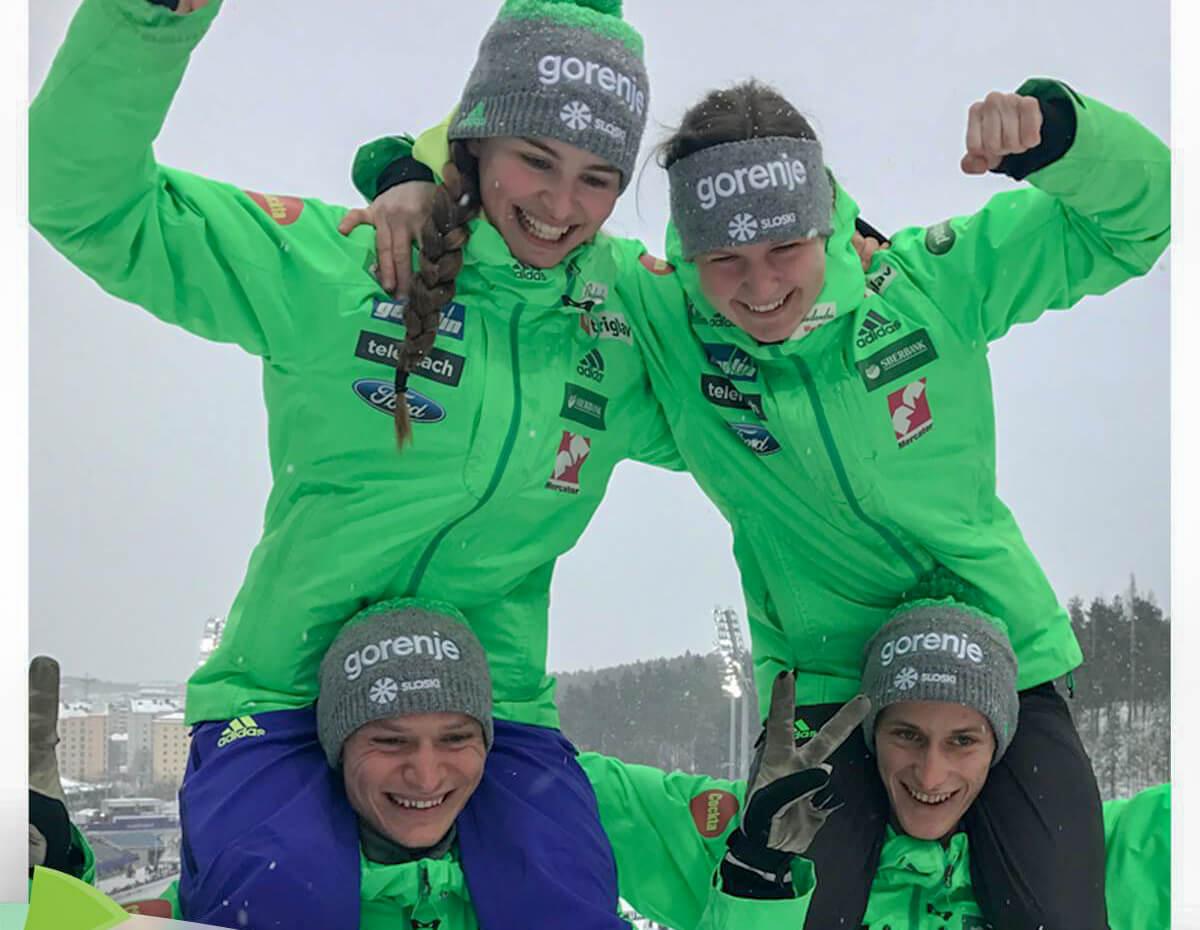 Zaključek svetovnega prvenstva v nordijskem smučanju