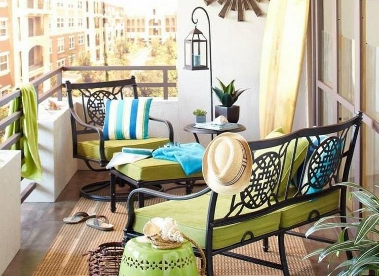 Pravljica na balkonu: 15 idej za ureditev majhnega balkona