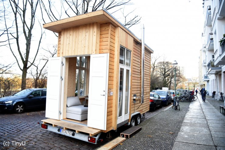 V nemškem Bauhausu razvili mini hiške za 100 evrov