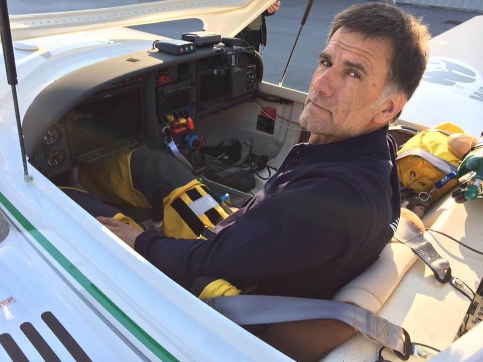 Green Light World Flight: Lenarčič nadaljuje pot nad Sredozemljem