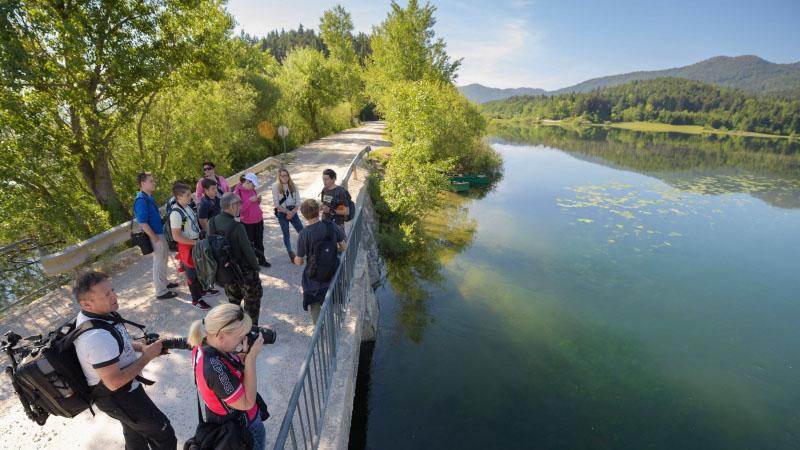 Dnevi Notranjskega parka ob Cerkniškem jezeru