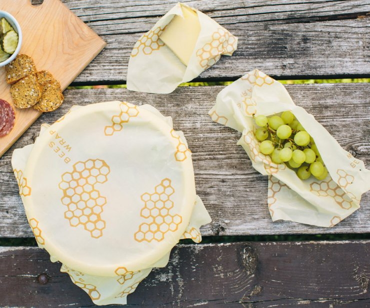 Naraven nadomestek plastične in alu folije za živila