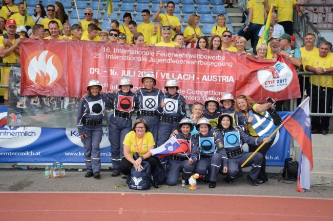 Gasilska olimpijada: nova zlata odličja za Slovenijo