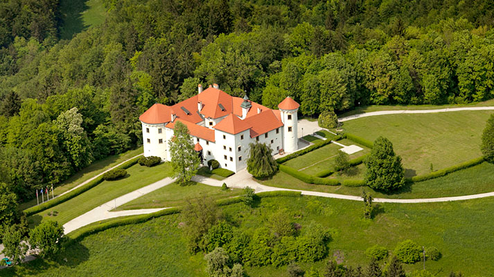 Grad Bogenšperk – vabljeni v objem belega gradu sredi zelenih gozdov
