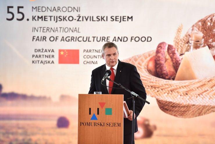 Mag. Židan na sejmu AGRA: »Kmetijstvo je pred izzivom, podnebne spremembe so tu«