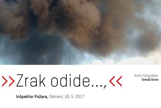 Razstava Gorenje na Vrhniki - ekološka katastrofa v fotografijah in citatih