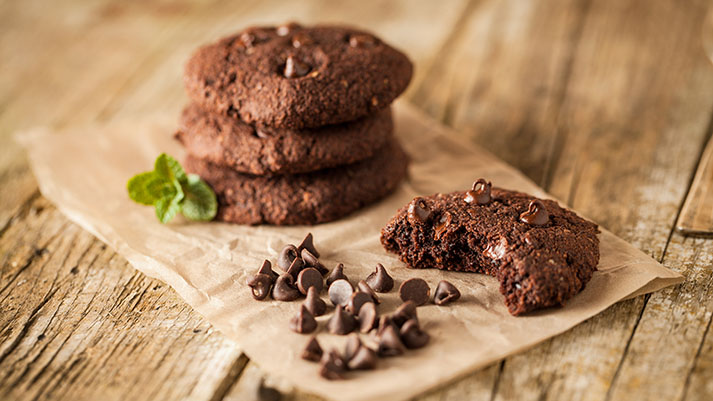 Čokoladni piškoti iz buče