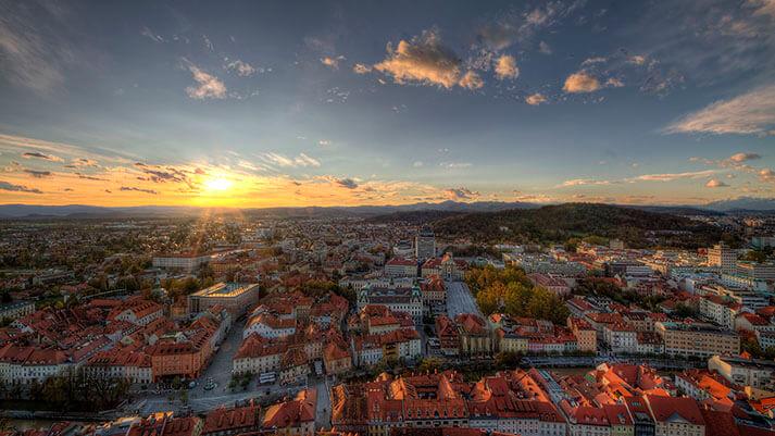 Ljubljana že tretjič na seznamu TOP 100 trajnostnih destinacij sveta