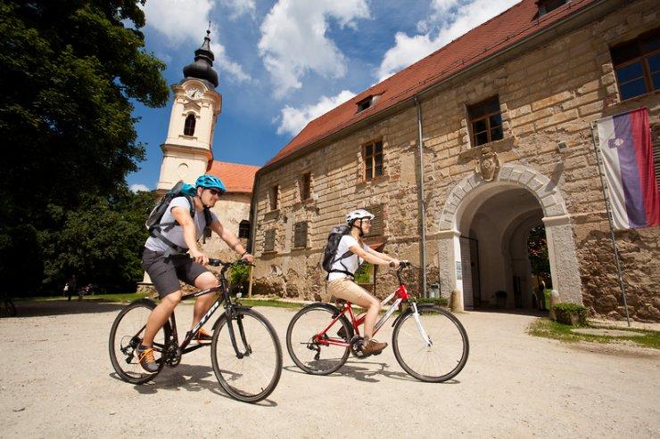 V objemu gradu na Gradu Goričko