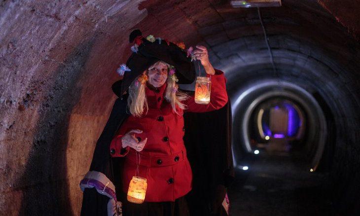Posebna noč čarovnic za otroke: v Rovih pod Kranjem