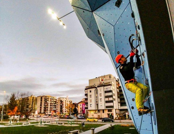 Domžale: Slovenci v boj za odličja na uvodu v evropski pokal v lednem plezanju
