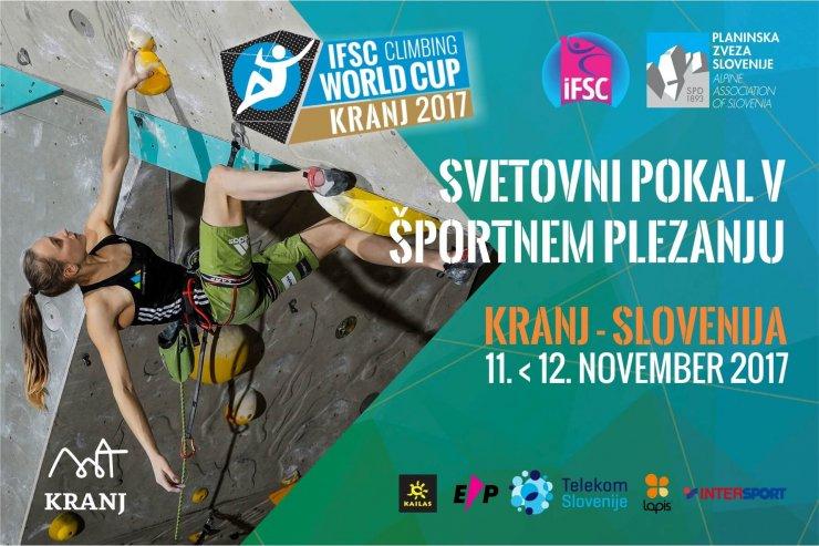 Konec tedna finale SP v športnem plezanju v Kranju
