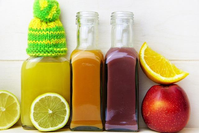 Čistilni napitek iz 3 sokov