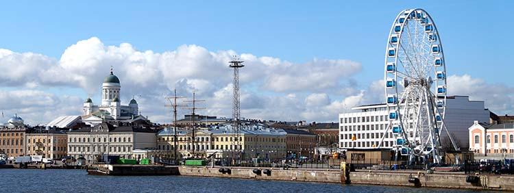Na 3. mesto so se uvrstili Helsinki.