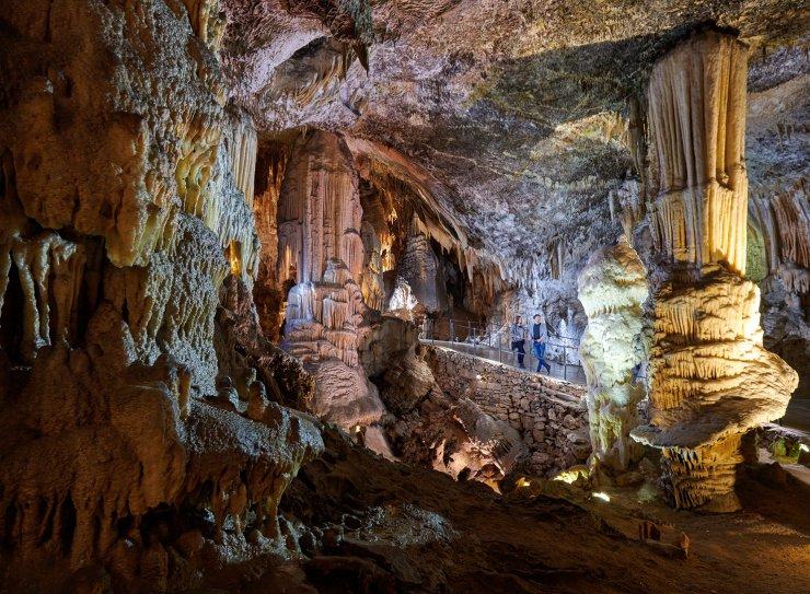 Postojnska jama: izlet 'na toplo' z ogledom ledenih kapnikov
