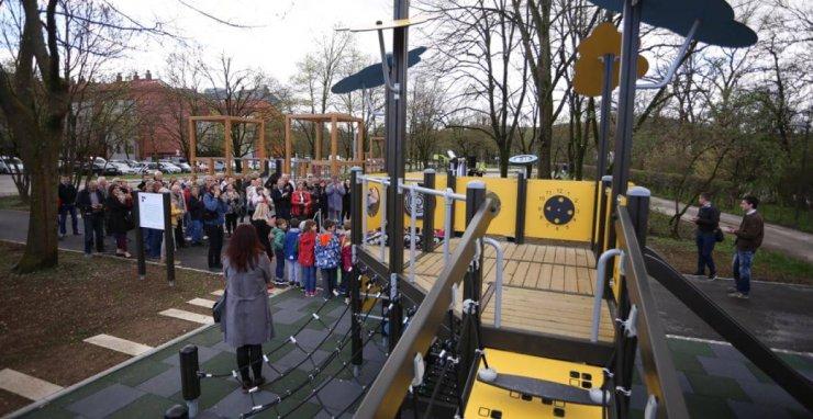 V Ljubljani nov družinski park Muste