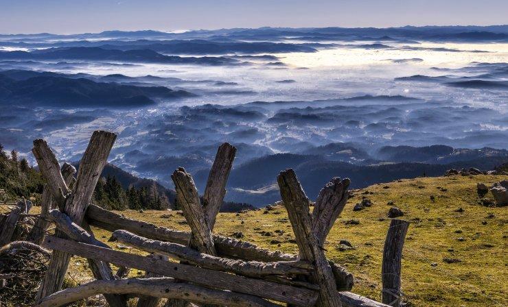 Menina planina - skriti vrh Tuhinjske doline