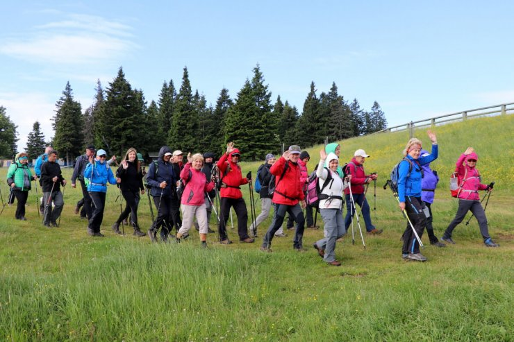 Več kot dva tisoč ljubiteljev gora na Rogli planinskih doživetij